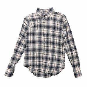 Naked and Famous Soft Tartan Button Up Shirt